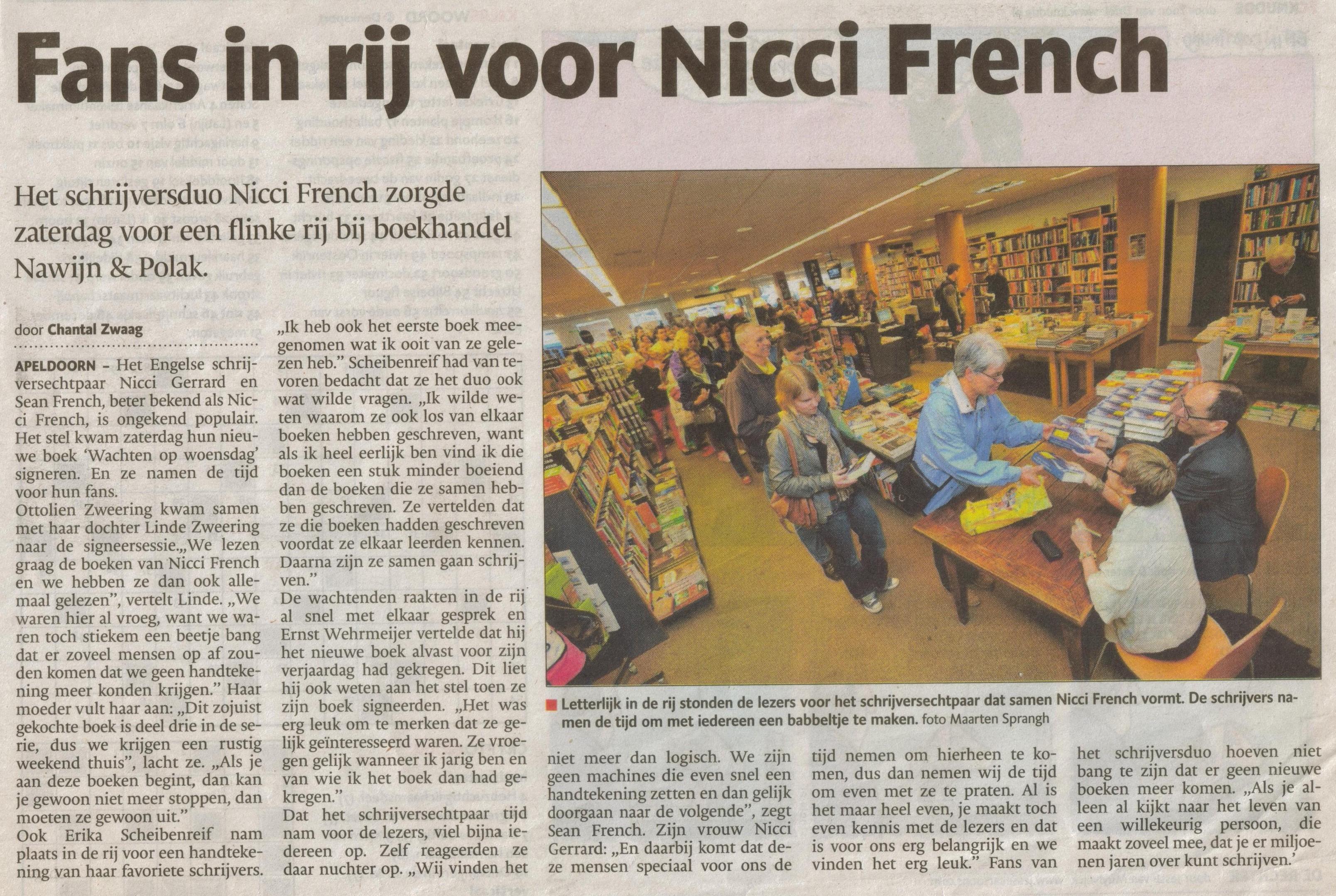 1- nicci french bij nawijn en polak-publicatiedatum 3 juni 2013
