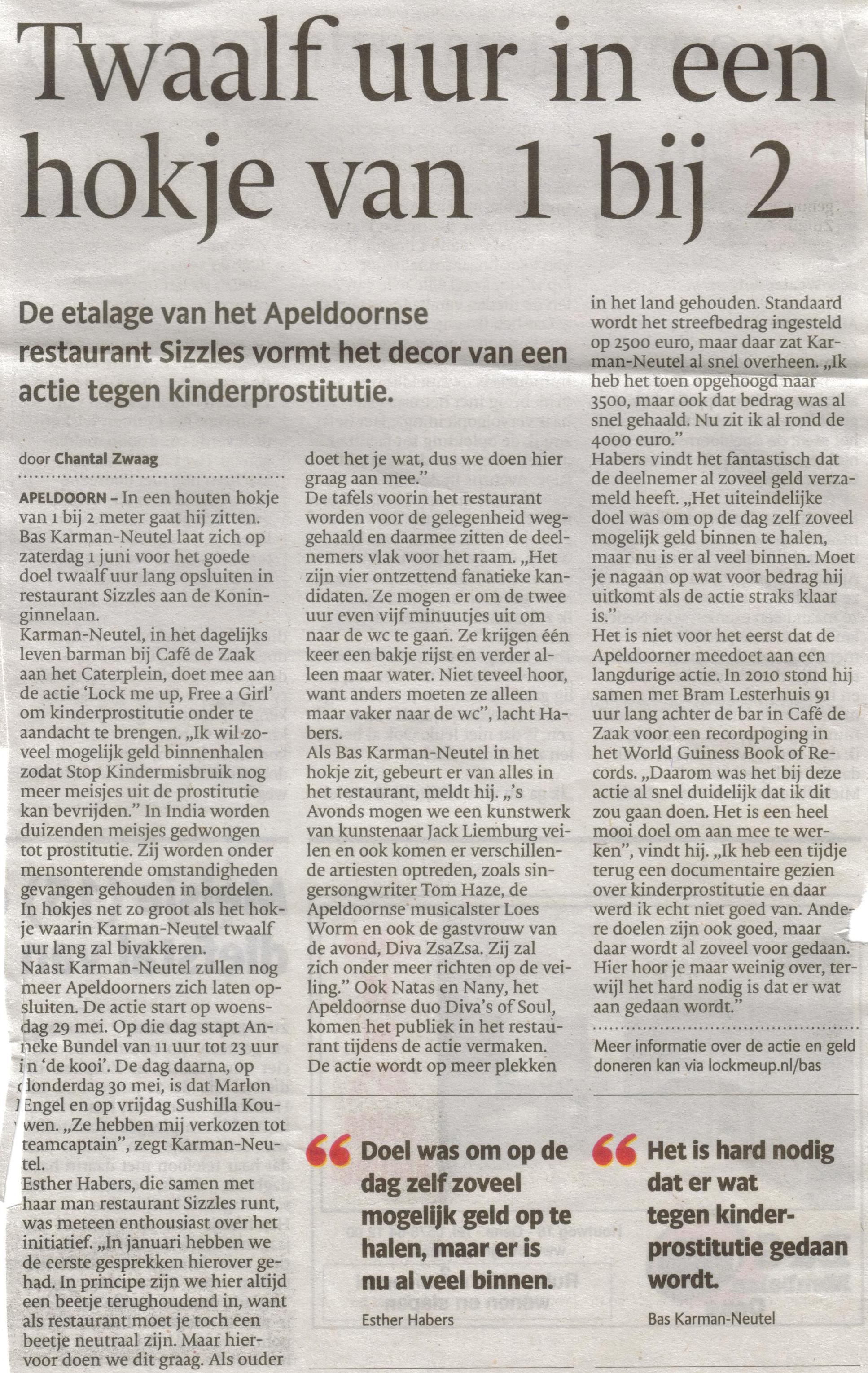 13- bas karman sluit zich op tegen kinderprostitutie- bijzondere productie-publicatiedatum 23 mei 2013