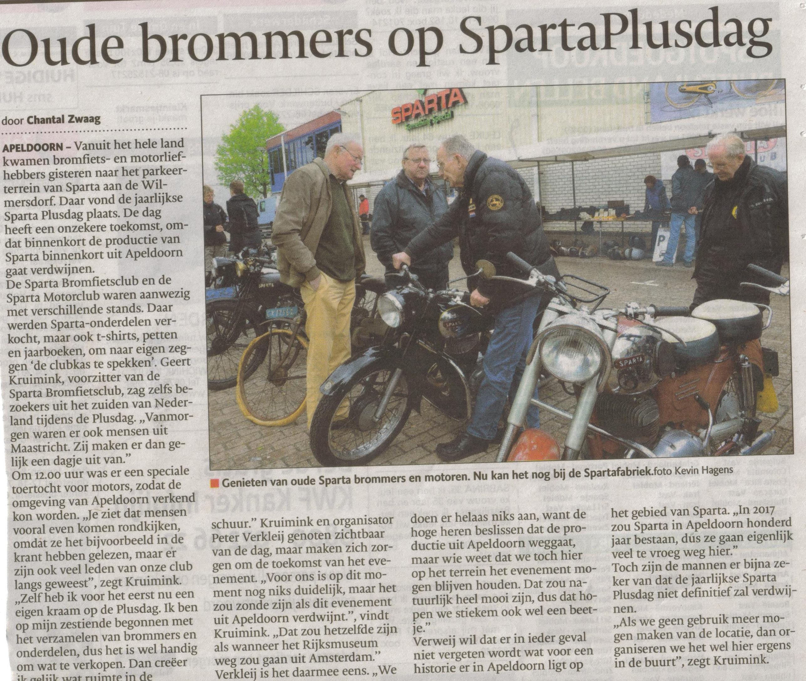 19- sparta plusdag-bijzondere productie-publicatiedatum 27 mei 2013